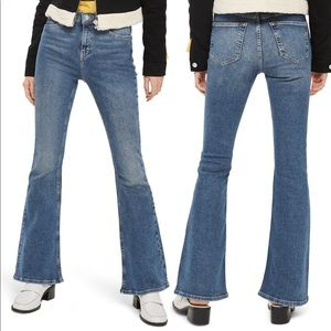 Topshop Moto Jamie Flare Jeans